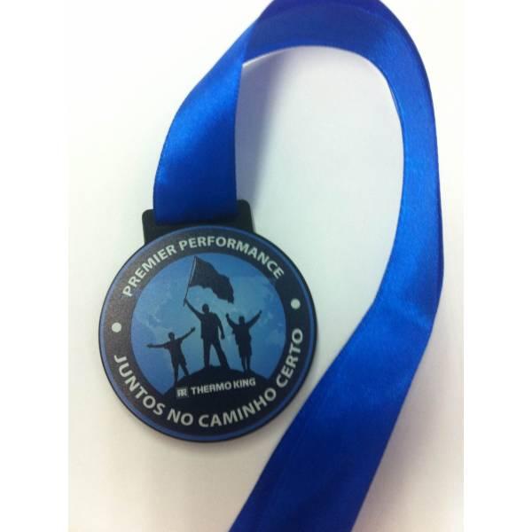 Confecção Medalha na Chácara Sonho Azul - Medalhas Personalizadas em Acrílico