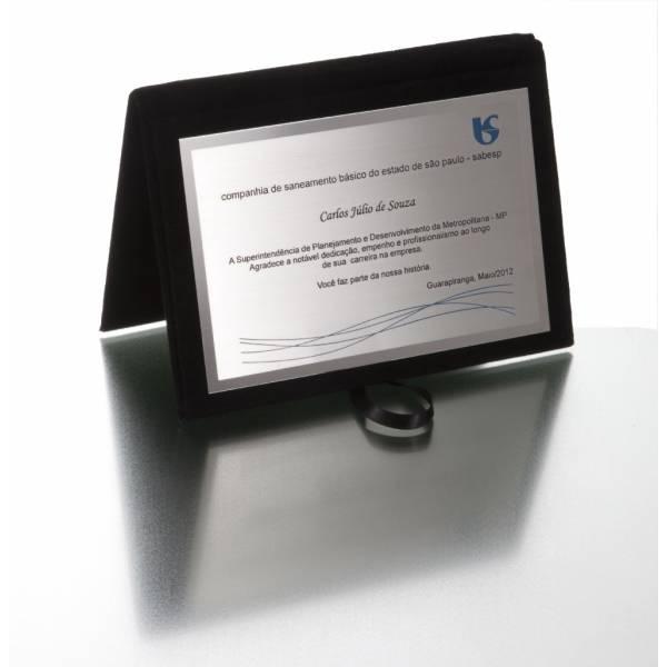 Impressão UV em Placas Metal na Chácara Santo Antônio - Impressão Uv