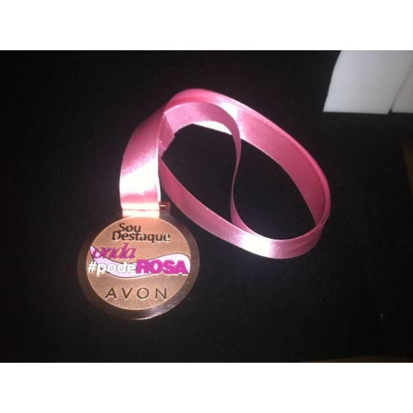 Medalha Personalizada na Nossa Senhora do Ó - Medalhas Comemorativas