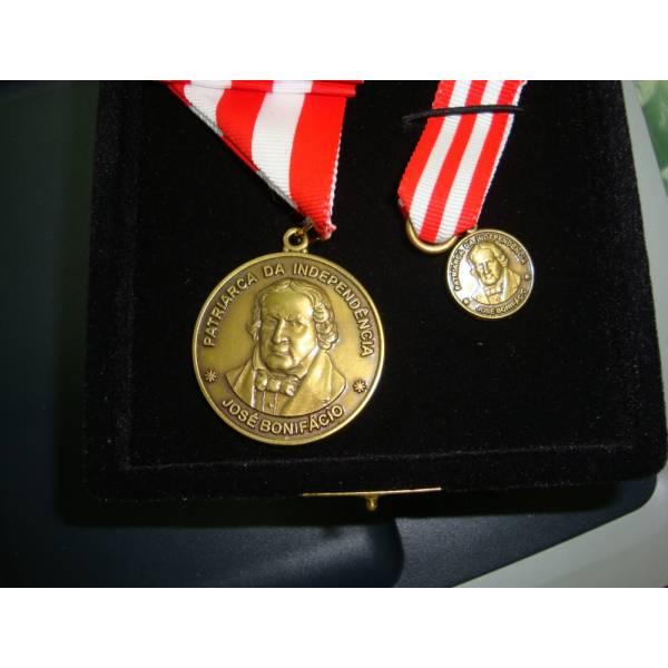 Medalha Personalizada Valor na Vila Germinal - Confecção de Medalhas
