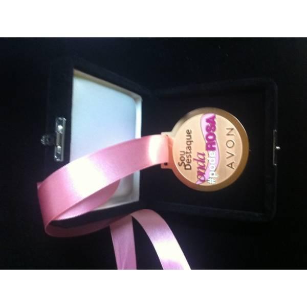 Medalha Personalizada Valor no Jardim Rosicler - Medalhas em Acrílico