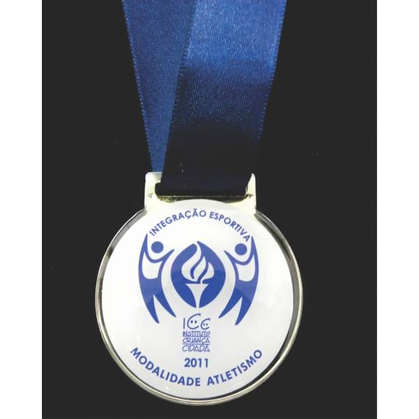 Medalhas Comemorativas Fotos no Jardim Humberto Nastari - Medalhas Personalizadas