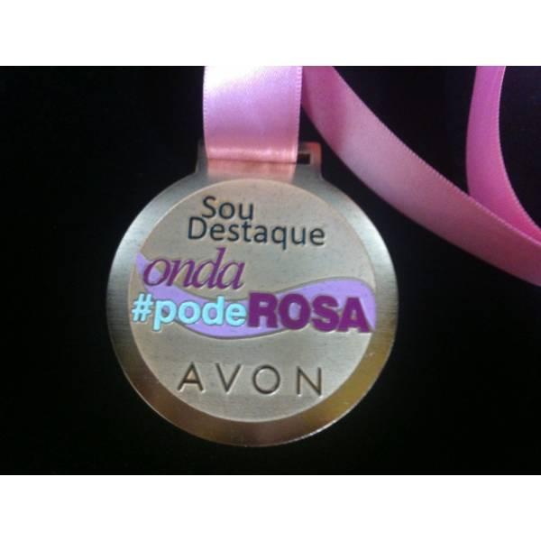 Medalhas e Troféus Personalizados Onde Comprar na Chácara Maria Trindade - Medalha Personalizada