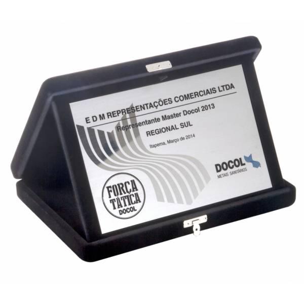 Placa Inox de Identificação no Alto de Pinheiros - Placa de Identificação em Aço Inox