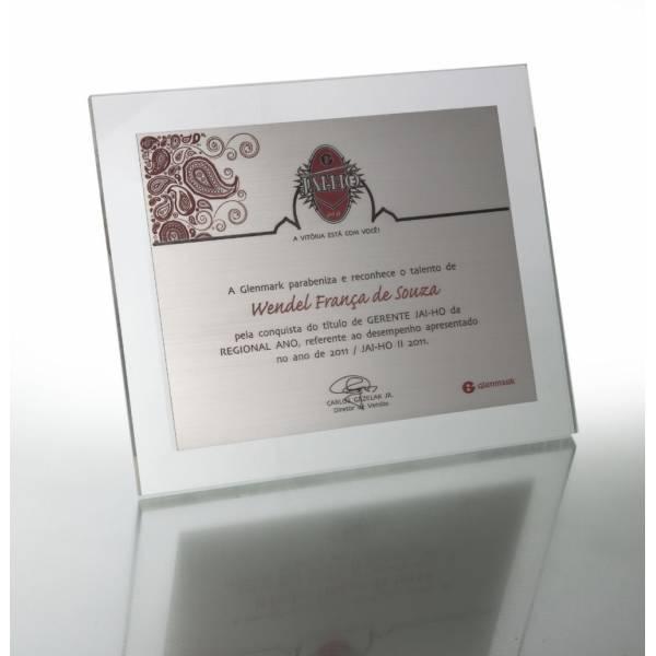 Placa Personalizada em Acrílico no Jardim Miragaia - Placas para Homenagem para Formatura