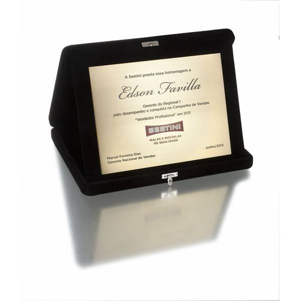 Placas e Porta Recado com Gravação Digital com Preços Acessíveis no Jardim Dinorah - Porta Recado com Gravação Digital