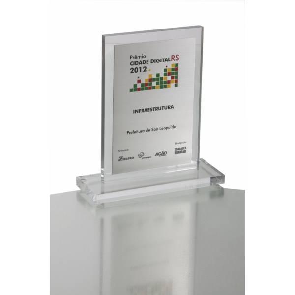 Placas em Acrílico Quanto Custa no Parque Nações Unidas - Placa de Aço Inox Preço