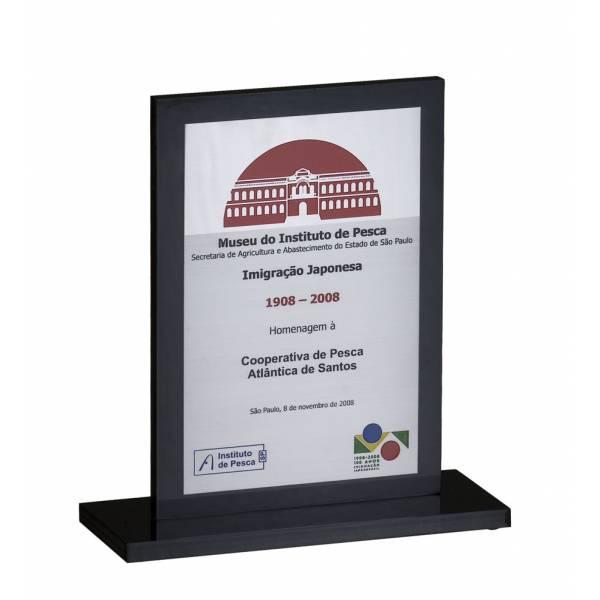 Preço de Plaquinha de Acrílico na Vila Vani - Plaquinha de Homenagem