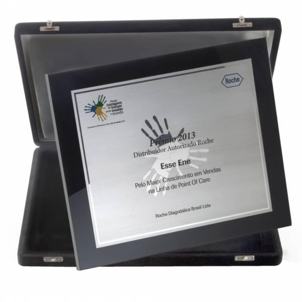 Preço de Plaquinha de Acrílico no Ipiranga - Placas de Inauguração em Aço Inox