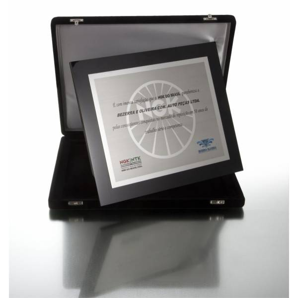 Preço de Plaquinha de Acrílico no Jardim Palmares - Placas de Inox para Homenagem