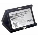 Gravação digital UV para placas de metal no Sítio Joá