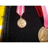 Medalhas comemorativas na Vila Fazzioni