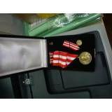 Medalhas comemorativas no Cipó do Meio