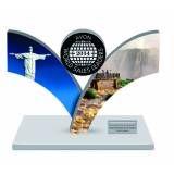 Troféu personalizado na Cidade Satélite Santa Bárbara