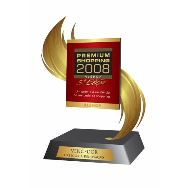 Troféu Corte a Laser com Preço Bom em Furnas - Troféu com Gravação Digital Uv