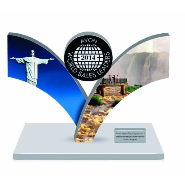 Troféu Corte a Laser Comprar no Jardim Helena - Troféu em Acrílico e Aço