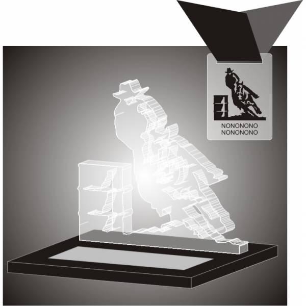 Troféu Corte a Laser em Acrílico Comprar no Itaim Paulista - Troféu em Acrílico com Gravação Digital
