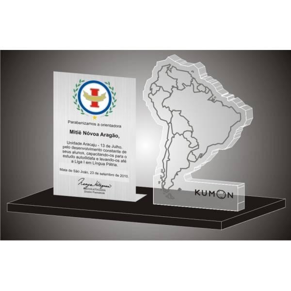 Troféu em Acrílico Valor no Jardim Madalena - Troféu Personalizado