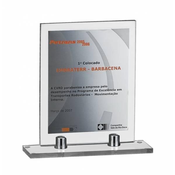 Troféu Personalizado em Acrílico em Curucutu - Confecção de Medalhas em Acrílico