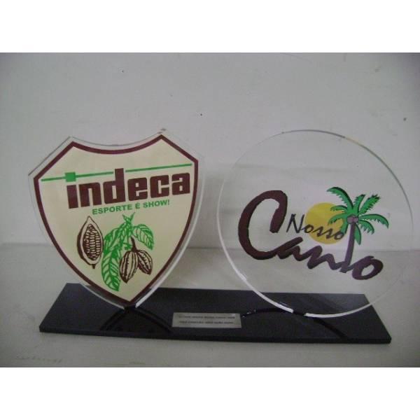 Troféu Personalizado no Jardim Luísa - Troféu em Acrílico e Aço