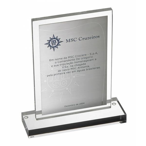 Troféu Personalizado Valor na Vila Diana - Confecção de Medalhas em Acrílico